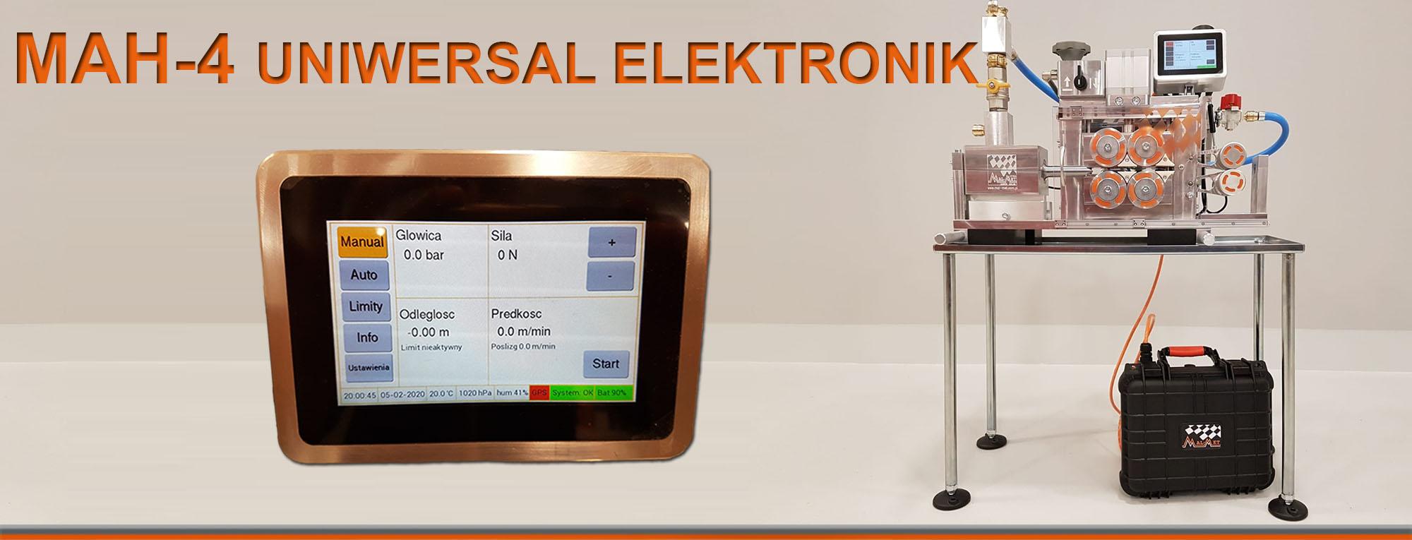 Wdmuchiwarka MAH-4 UNIWERSAL ELEKTRONIK